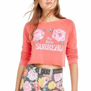 NWT Wildfox It's Been Surreal crop top size XS